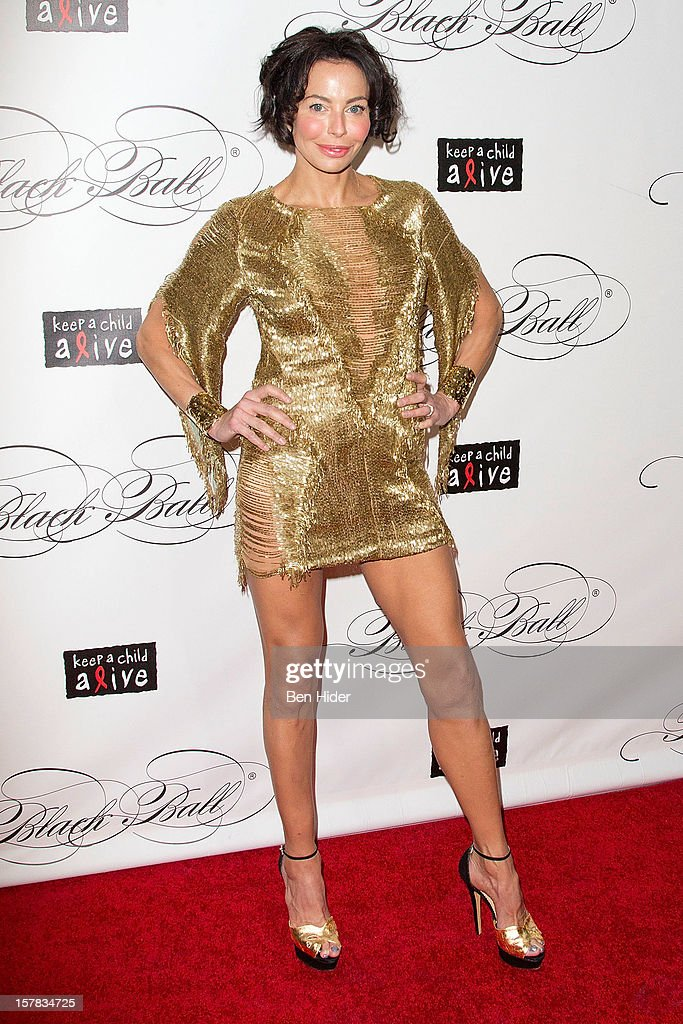 Lisa Falcone attends the Keep A Child Alive's Black Ball Redux 2012 at The Apollo Theater on December 6, 2012 in New York City.