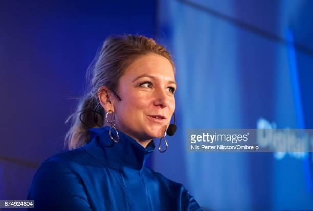 Lisa Farrar during the Sime Awards at Epicenter on November 16 2017 in Stockholm Sweden
