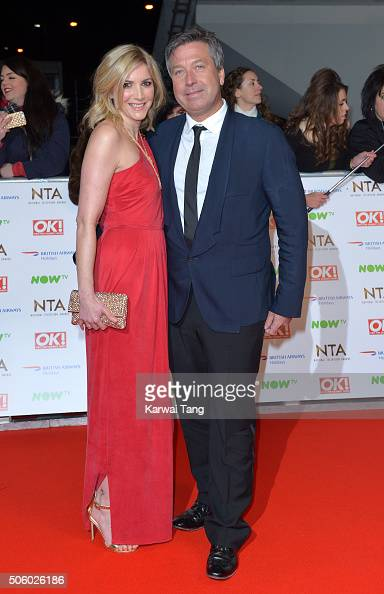 Lisa Faulkner and John Torode attend the 21st National Television Awards at The O2 Arena on January 20 2016 in London England