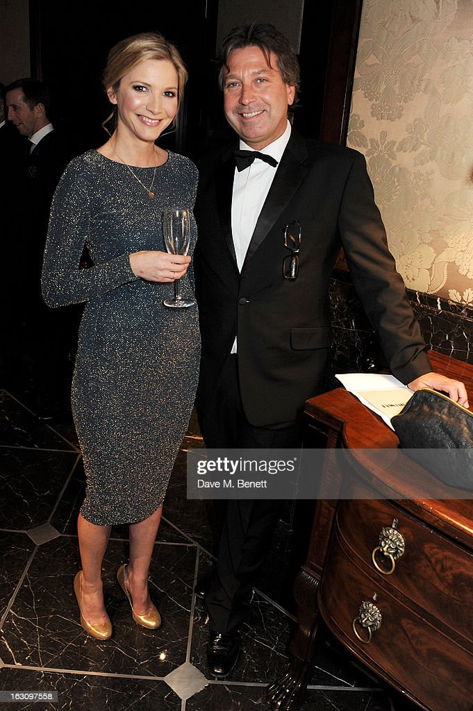 <a gi-track='captionPersonalityLinkClicked' href=/galleries/search?phrase=Lisa+Faulkner&family=editorial&specificpeople=239146 ng-click='$event.stopPropagation()'>Lisa Faulkner</a> (L) and John Torode attend the 'Who's Cooking Dinner?' charity event, featuring 20 of the capital's finest chefs cooking dinner for 200 diners in aid of leukaemia charity Leuka, at the Four Seasons Hotel on March 4, 2013 in London, England.