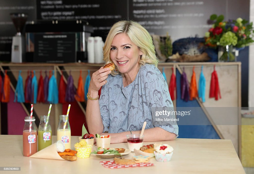 Lisa Faulkner attends the launch of the new Sky Kids Cafe where she has curated a kids menu inspired by shows from the new Sky Kids app at The Vinyl...