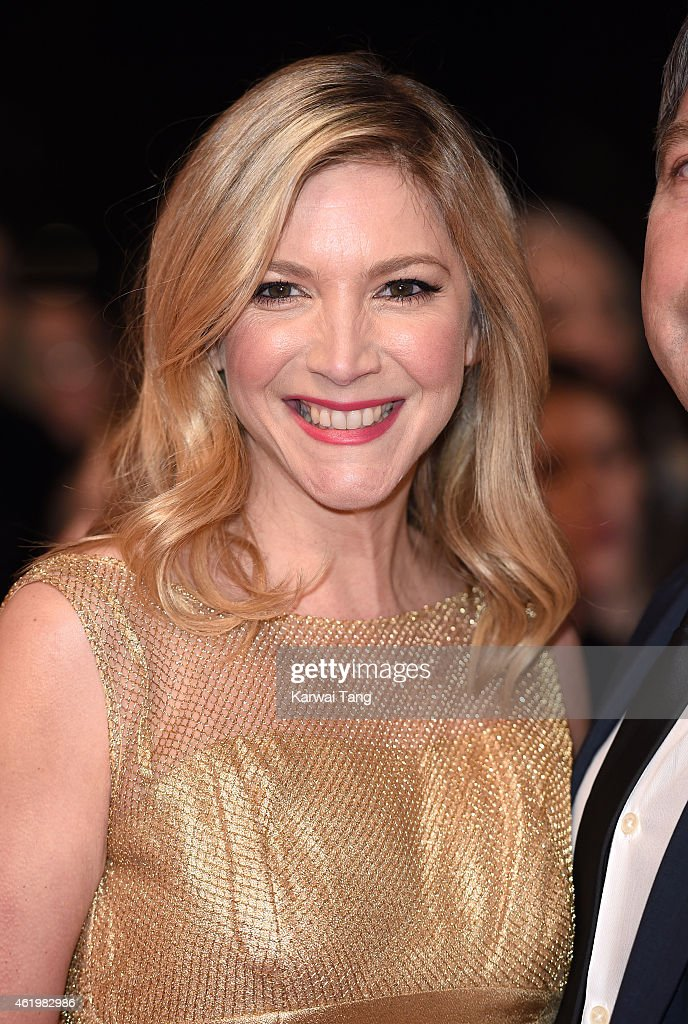 Lisa Faulkner attends the National Television Awards at 02 Arena on January 21 2015 in London England