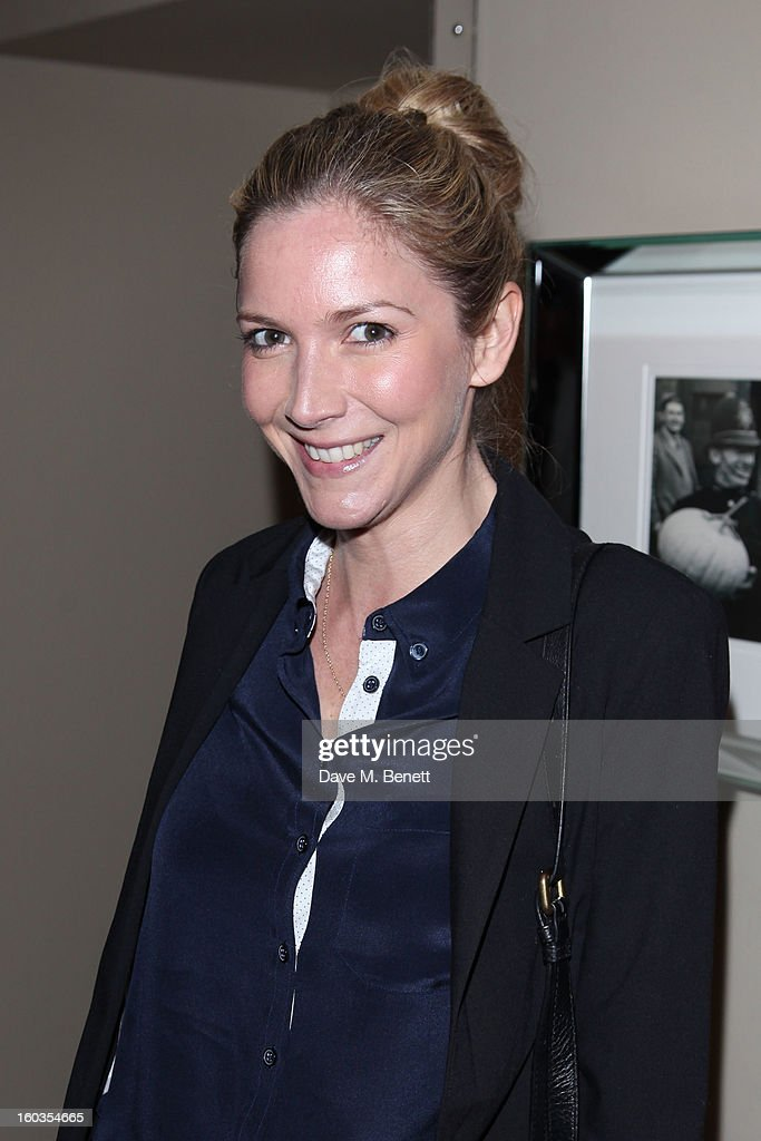 Lisa Faulkner attends the Sharpham Park preview launch of the Great British Spelt Recipe E-Book at The Athenaeum on January 29, 2013 in London, England.