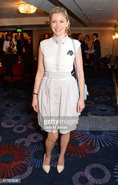 Lisa Faulkner attends the TRIC Television and Radio Industries Club Awards at the Grosvenor House Hotel on March 11 2014 in London England