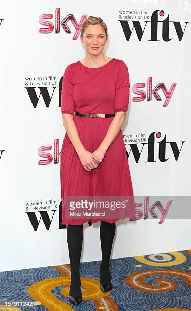 Lisa Faulkner attends the Women in TV Film Awards at London Hilton on December 7 2012 in London England
