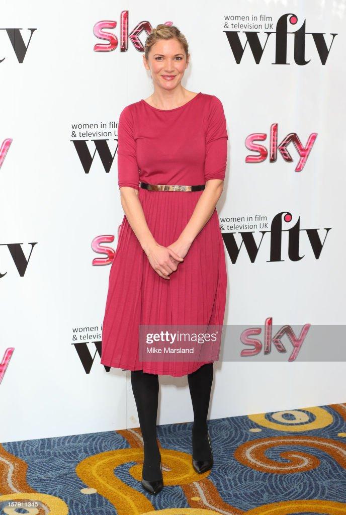 Lisa Faulkner attends the Women in TV & Film Awards at London Hilton on December 7, 2012 in London, England.