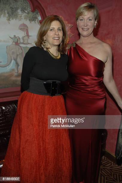 Lisa Fine and Sara Dodd attend Alison Mazzolaís Birthday Party hosted by George Farias and Anne and Jay McInerney at Doubles on April 22nd 2010 in...