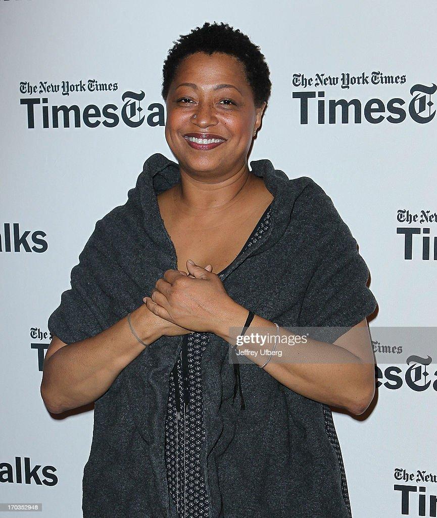 Lisa Fischer attends 'Twenty Feet from Stardom at TheTimesCenter on June 11, 2013 in New York City.