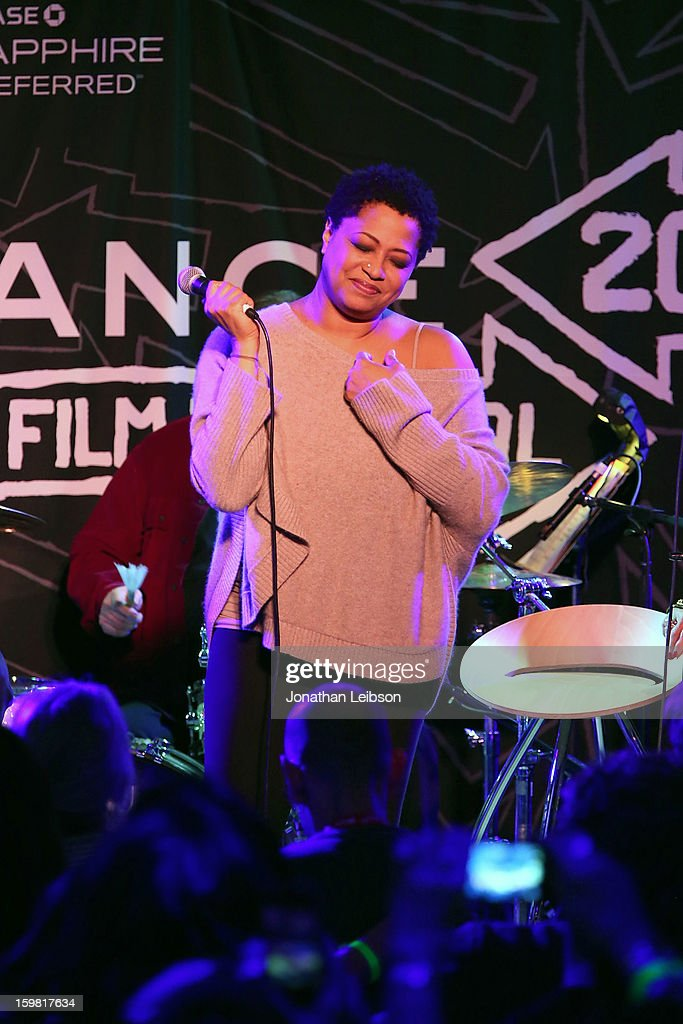 Lisa Fischer performs at the A Celebration Of Music And Film - 2013 Sundance Film Festival at Sundance House on January 20, 2013 in Park City, Utah.