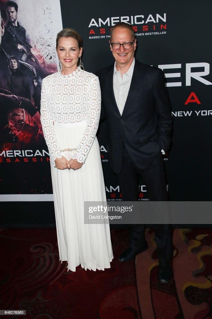 Lisa Flynn and screenwriter Stephen Schiff attend a Screening of CBS Films and Lionsgate's 'American Assassin' at TCL Chinese Theatre on September 12, 2017 in Hollywood, California.