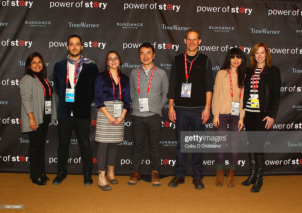 Lisa Garcia Quiroz, Yotam Silberstein, Brooke Swaney, Leo Chiang, Johnny Symons, Chloe Zhao and Sundance Institute Executive Director Keri Putnam attend the Power Of Story: Independence Unleashed Panel at Egyptian Theatre during the 2013 Sundance Film Festival on January 19, 2013 in Park City, Utah.