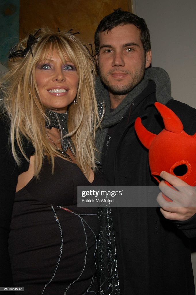 Lisa Gastineau and Scott Sartiano attend Four Degrees hosts Halloween Party at Capitale on October 29 2005 in New York City