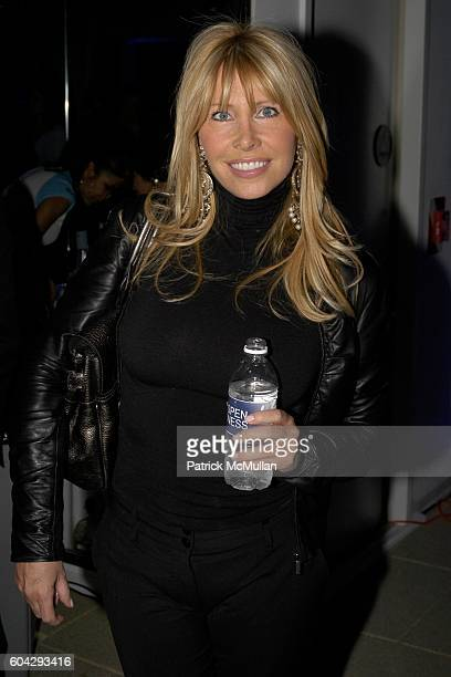 Lisa Gastineau attends Aspen Fitness Grand Opening Celebration at Takashimaya Building on March 1 2006 in New York City
