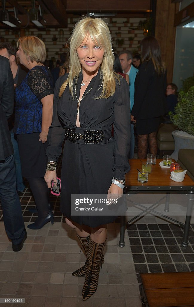 Lisa Gastineau attends the Grand Opening of RivaBella Ristorante on January 31, 2013 in West Hollywood, California.