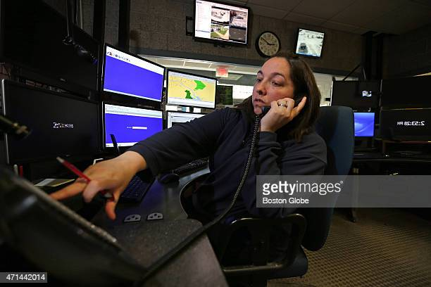 Lisa Gaylord a dispatcher for the Northbridge Police Department in Northbridge Mass has taken many phone calls intended for the Northbridge Police...