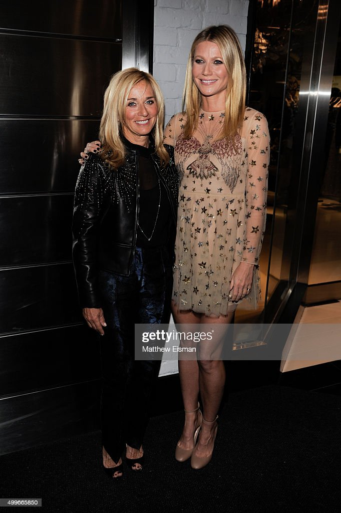 Lisa Gersh (L) and Gwyneth Paltrow attend the goop mrkt grand opening event at The Shops at Columbus Circle on December 2, 2015 in New York City.