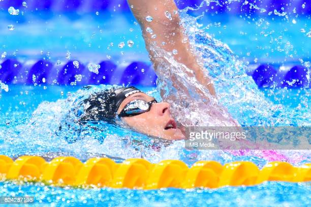 Lisa Graf during the Budapest 2017 FINA World Championships on July 28 2017 in Budapest Hungary