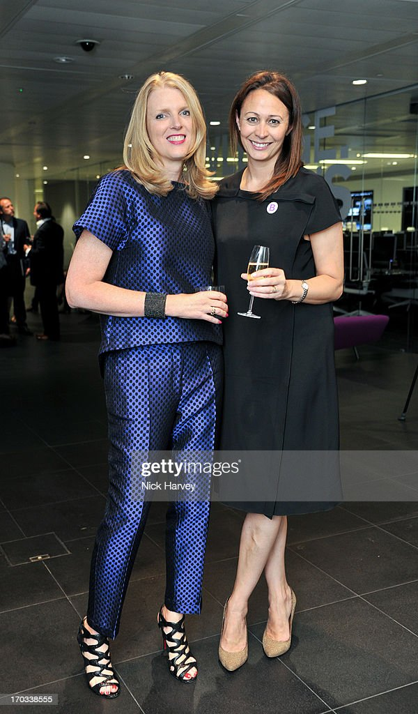 Lisa Gregg and Caroline Rush attends the Luxury Briefing Awards on June 11, 2013 in London, England.