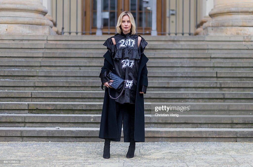 Street Style Day 3 - Mercedes-Benz Fashion Week Berlin A/W 2017