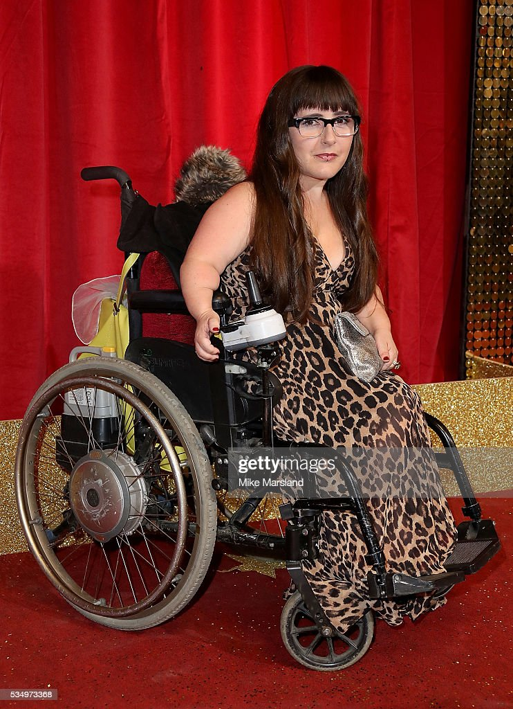 Lisa Hammond attends the British Soap Awards 2016 at Hackney Empire on May 28, 2016 in London, England.