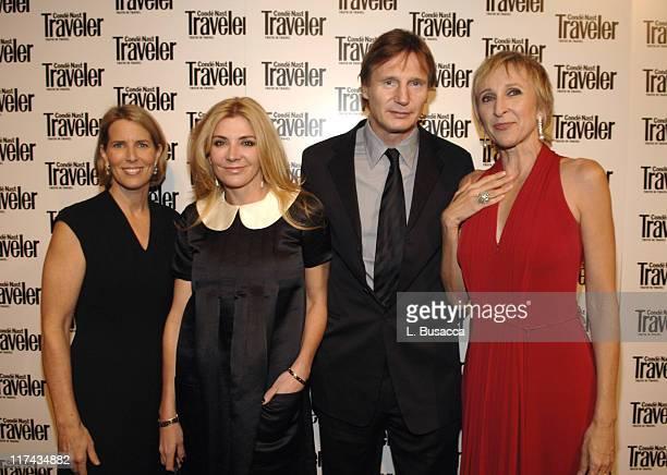 Lisa Hughes Natasha Richardson Liam Neeson and Klara Glowczewska