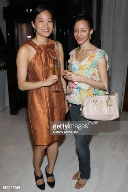 Lisa Hur and Alicia Skehan attend The Private Unveiling of GRAFF Time Watch Collection 1 at Graff on June 11 2009 in New York City