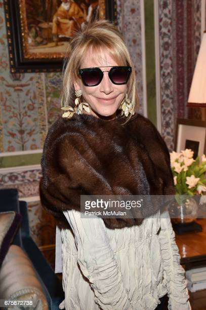 Lisa Jackson attends Richard Mishaan's 'Well Traveled Room' at the Kips Bay Boys and Girls House Show House Opening Night on May 1 2017 in New York...