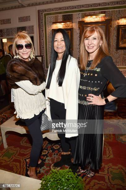 Lisa Jackson Helen Lee Schifter and Nicole Miller attend Richard Mishaan's 'Well Traveled Room' at the Kips Bay Boys and Girls House Show House...
