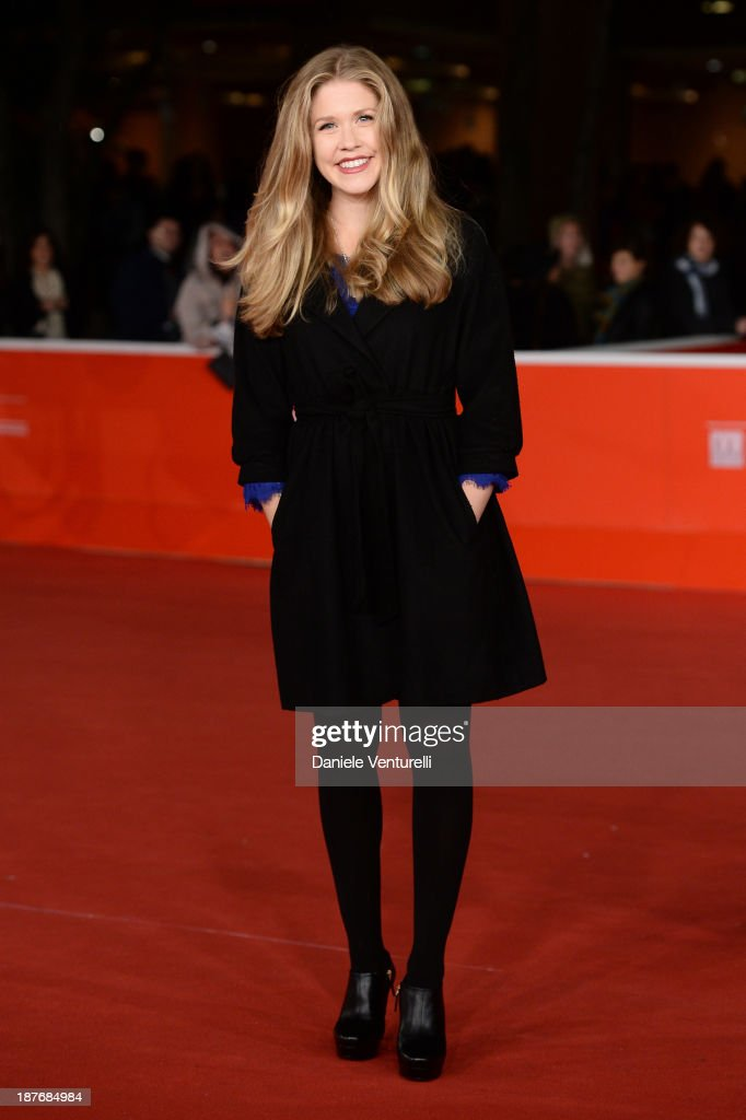 Lisa Joyce attends 'La Santa' Premiere And 'Fear Of Falling' Premiere during The 8th Rome Film Festival on November 11 2013 in Rome Italy