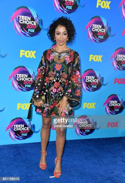 Lisa Koshy attends the Teen Choice Awards 2017 at Galen Center on August 13 2017 in Los Angeles California