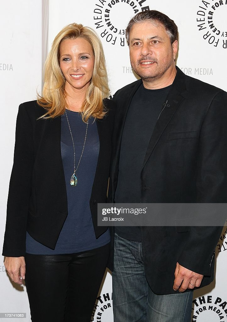 Lisa Kudrow and Gary Levine attend 'An Evening With Web Therapy: The Craze Continues...' held at The Paley Center for Media on July 16, 2013 in Beverly Hills, California.