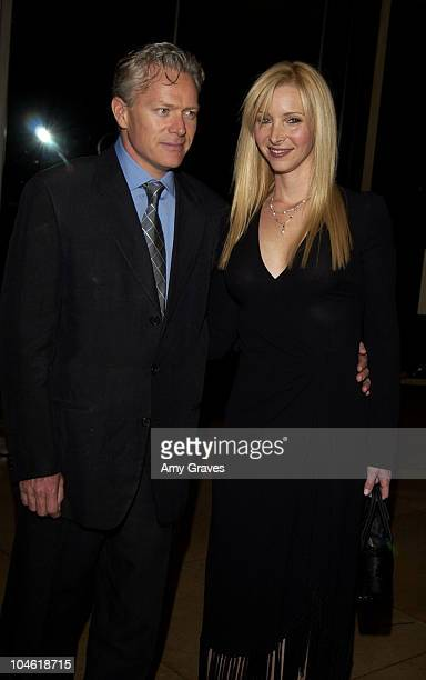 Lisa Kudrow and husband Michael Stern during The Imagine Awards Benefiting InnerCity Arts at Beverly Hilton Hotel in Bevery Hills California United...