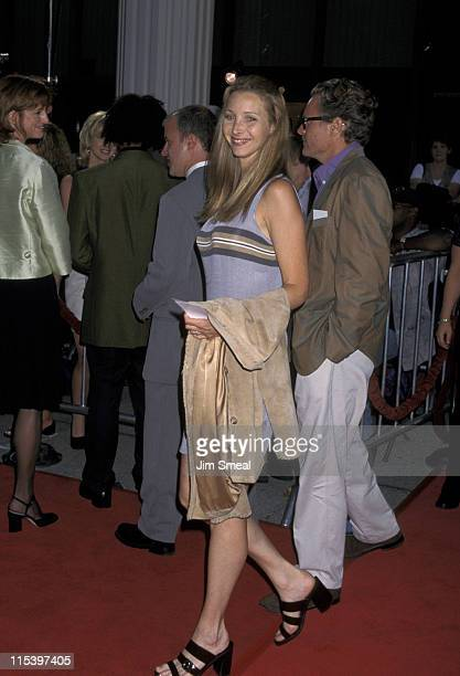 Lisa Kudrow and husband Michel Stern during 'Nothing To Lose' Los Angeles Premiere August 7 1997 at Avco Cinema Center in Los Angeles California...