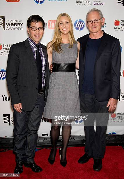 Lisa Kudrow and Victor Garber attend the 14th Annual Webby Awards at Cipriani Wall Street on June 14 2010 in New York City