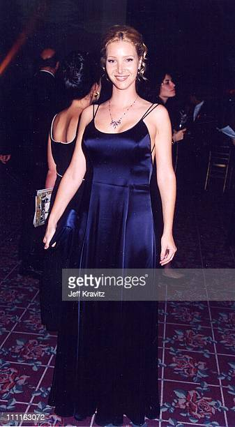 Lisa Kudrow during 1996 Emmy's in Los Angeles California United States