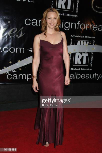 Lisa Kudrow during 31st Annual American Women in Radio Television Gracie Allen Awards Red Carpet at Marriot Marquis in New York City New York United...