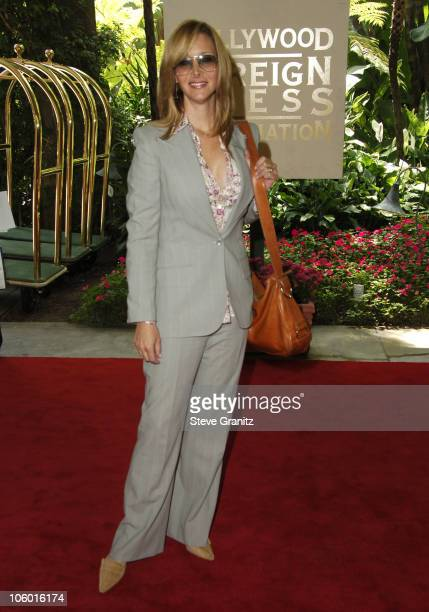 Lisa Kudrow during HFPA Holds Annual Installation Luncheon Arrivals at Beverly Hills Hotel in Beverly Hills California United States