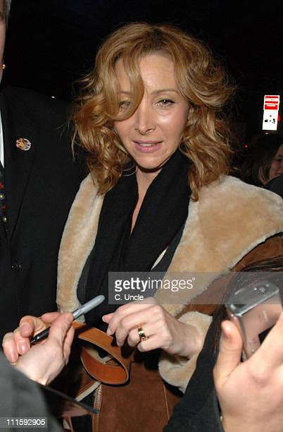 Lisa Kudrow during London Lesbian Gay Film Festival 'Happy Endings' Opening Gala at Odeon Leicester Square in London Great Britain