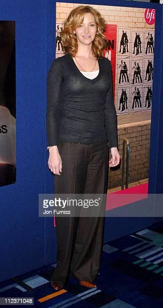 Lisa Kudrow during London Lesbian Gay Film Festival 'Happy Endings' Opening Gala at Odeon in London Great Britain