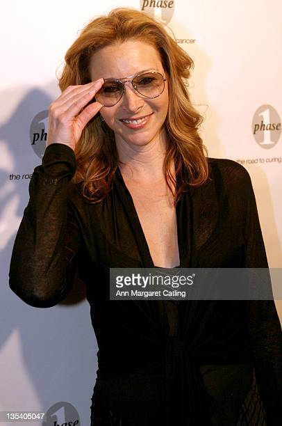Lisa Kudrow during Phase One Gala Fundraiser at Regent Beverly Wilshire Hotel in Beverly Hills CA United States