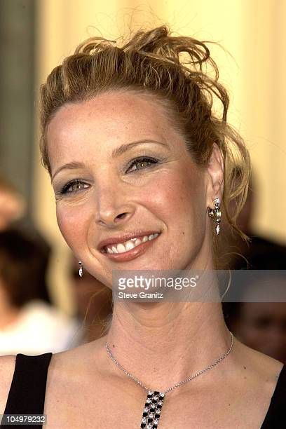 Lisa Kudrow during The 8th Annual Screen Actors Guild Awards Arrivals at Shrine Exposition Center in Los Angeles California United States