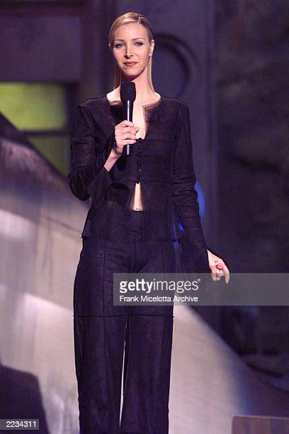 Lisa Kudrow hosts the 1999 MTV Movie Awards at the Barker Hangar in Santa Monica CA 6/5/99 The show will air on MTV on June 10th Photo by Frank...