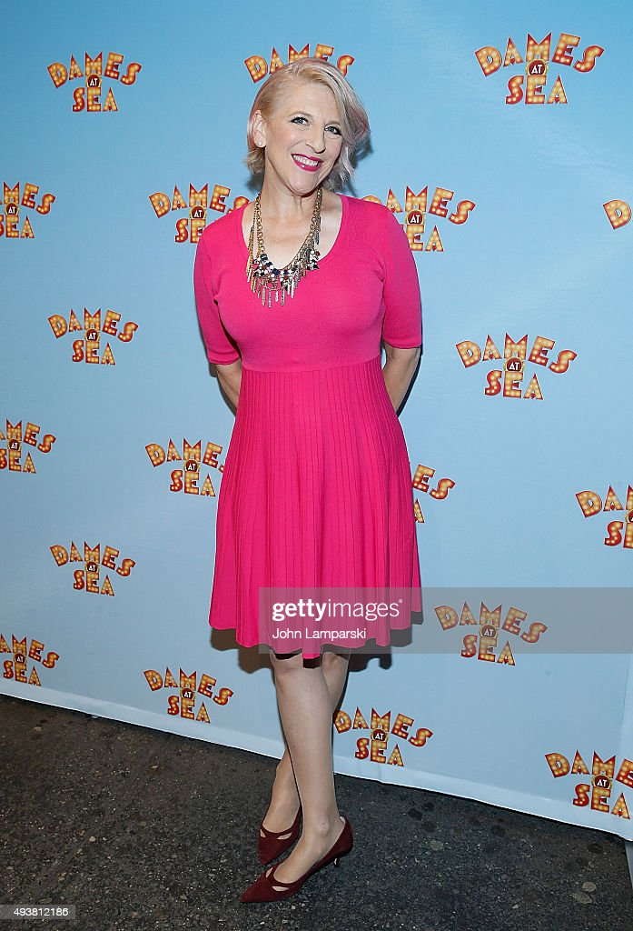Lisa Lampanelli attends Dames At Sea' Opening Night at Helen Hayes Theatre on October 22 2015 in New York City
