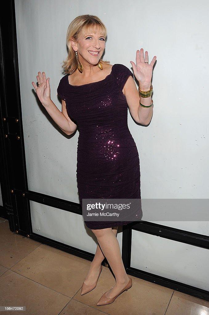 Lisa Lampanelli attends Henri Bendel holiday window unveiling 2012 at Henri Bendel on November 15, 2012 in New York City.