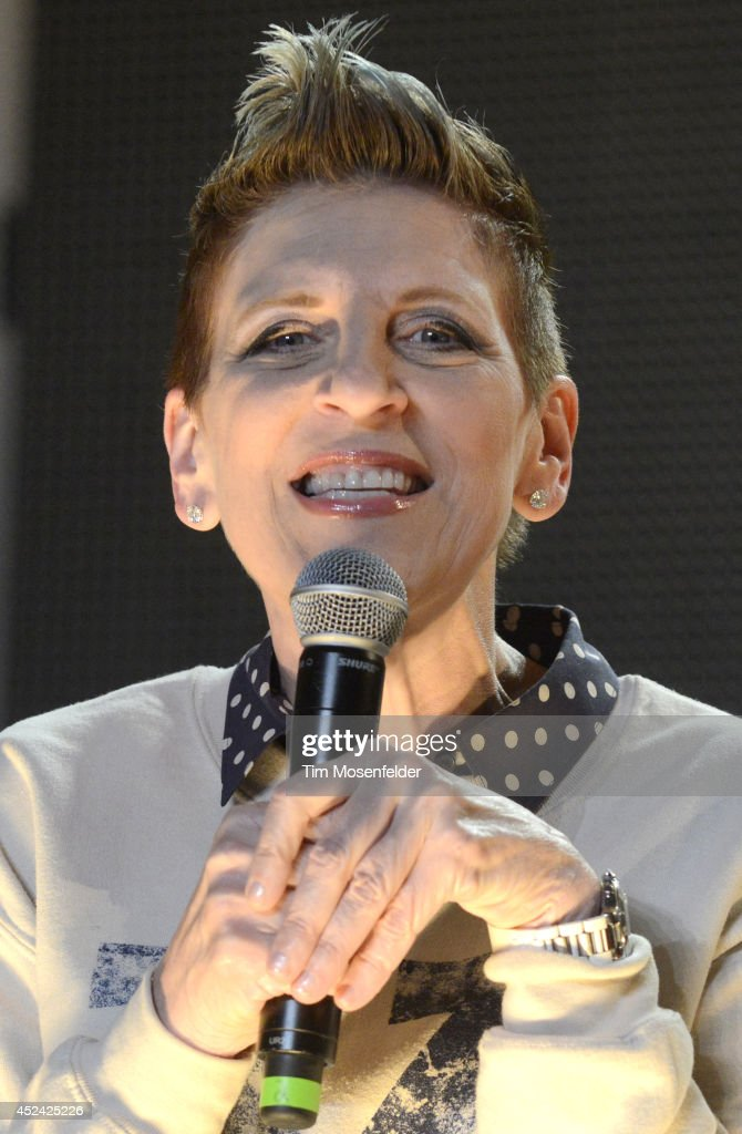 Lisa Lampanelli performs during the Pemberton Music and Arts Festival at on July 19, 2014 in Pemberton, British Columbia.