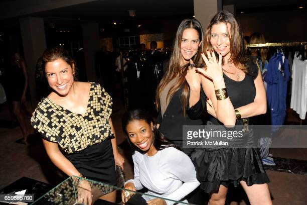 Lisa Lavora Umindi Francis Ana Khouri and Valentina Micchetti attend JOSEPH ALTUZARRA Private Cocktail Party at THE WEBSTER at The Webster on...
