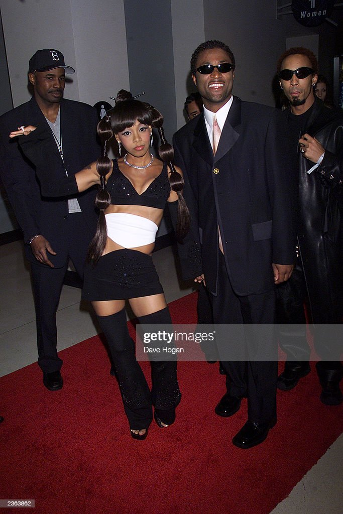 Lisa 'Left Eye' Lopes of TLC at the 2000 Grammy Awards held in Los Angeles, CA on February 24, 2000