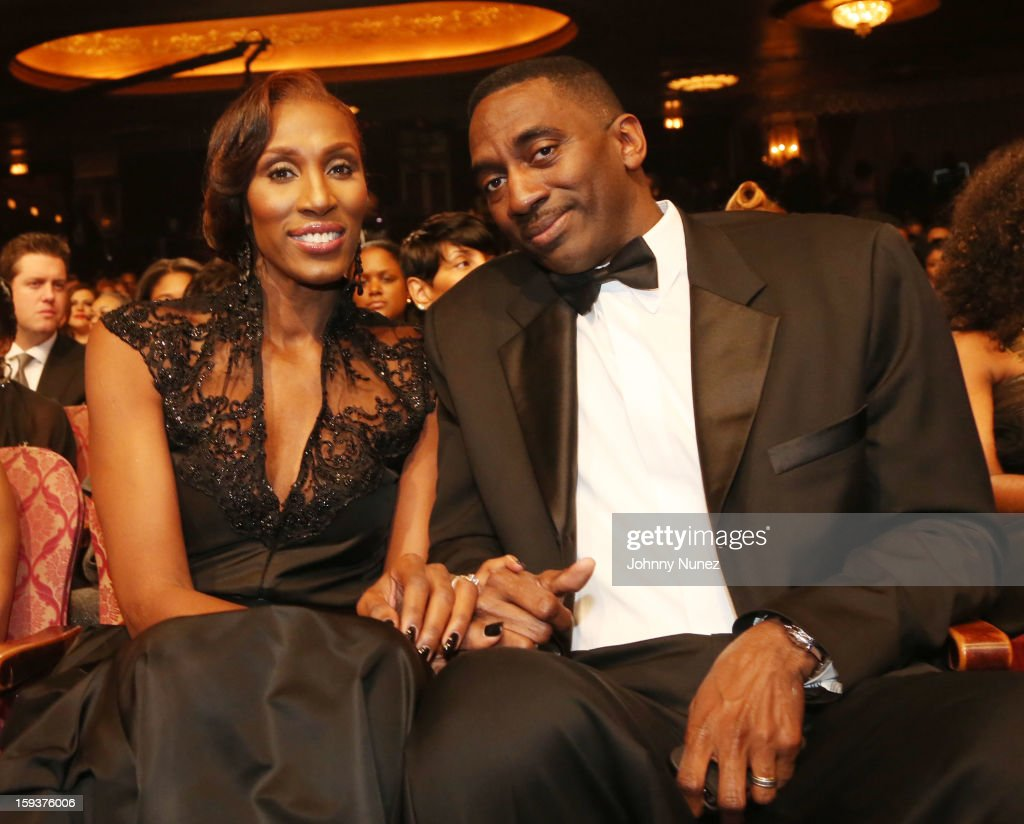 <a gi-track='captionPersonalityLinkClicked' href=/galleries/search?phrase=Lisa+Leslie&family=editorial&specificpeople=202228 ng-click='$event.stopPropagation()'>Lisa Leslie</a> and <a gi-track='captionPersonalityLinkClicked' href=/galleries/search?phrase=Michael+Lockwood&family=editorial&specificpeople=2259161 ng-click='$event.stopPropagation()'>Michael Lockwood</a> attend BET Honors 2013 at Warner Theatre on January 12, 2013 in Washington, DC.
