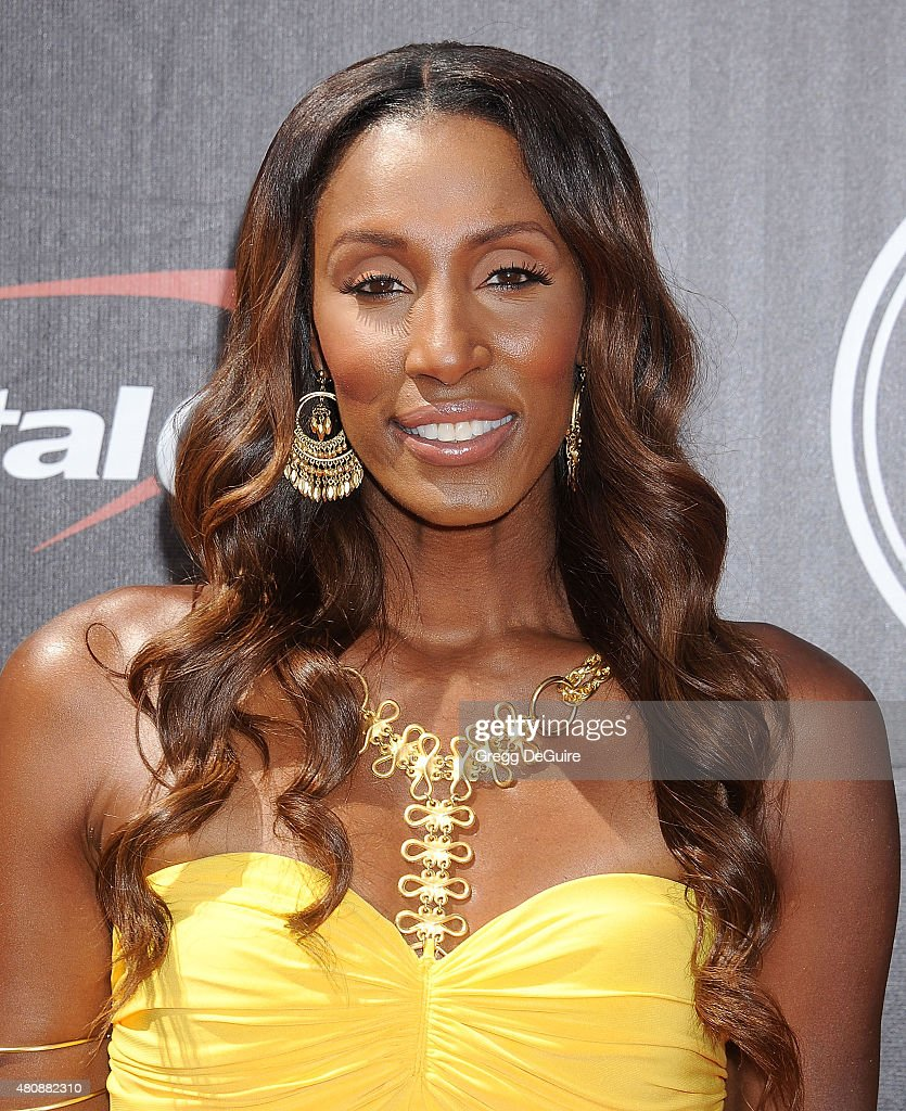 Lisa Leslie arrives at The 2015 ESPYS at Microsoft Theater on July 15, 2015 in Los Angeles, California.