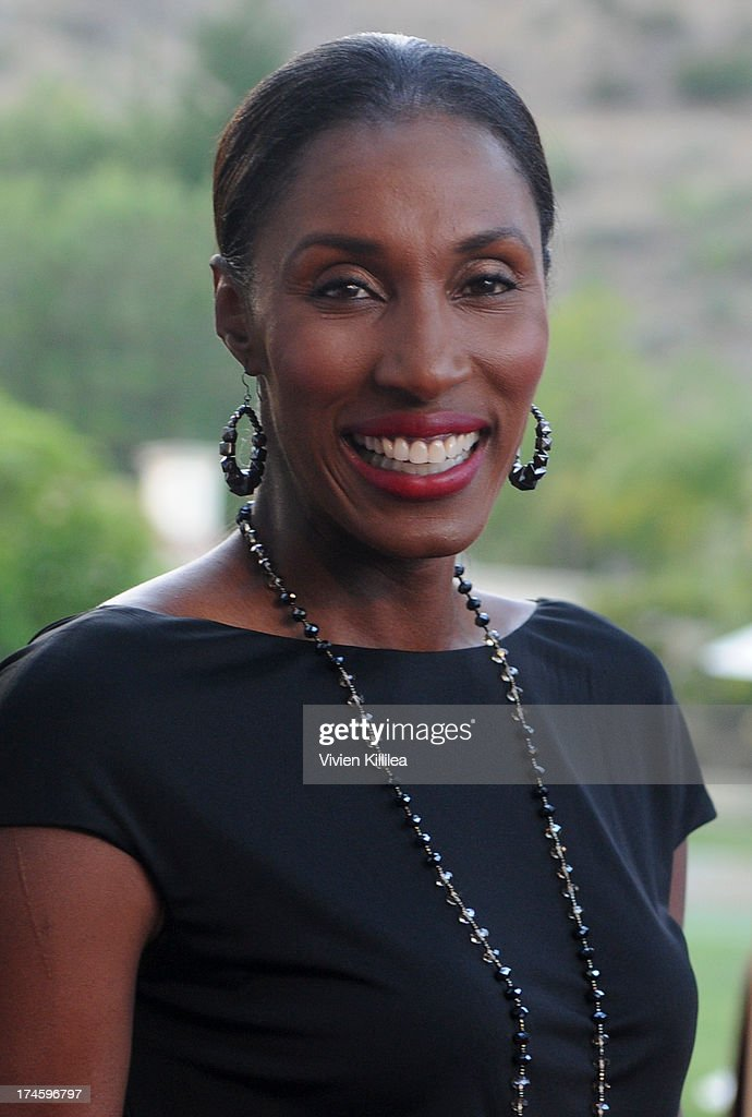 Lisa Leslie attends 15th Annual DesignCare on July 27, 2013 in Malibu, California.